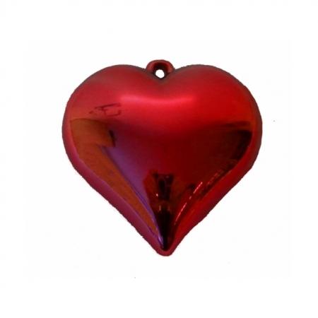 Ballongewicht Herz rot glänzend