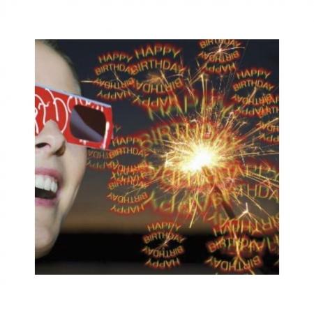 3D Geburtstags Brille