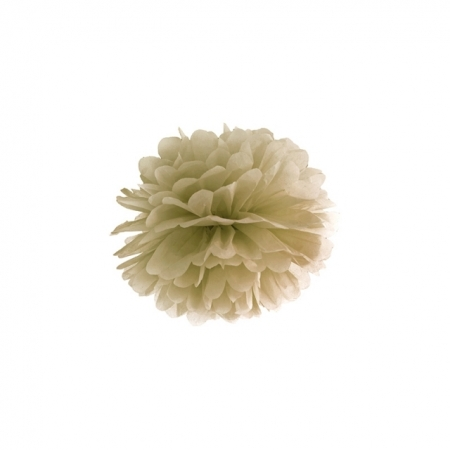 Pompoms gold 25cm