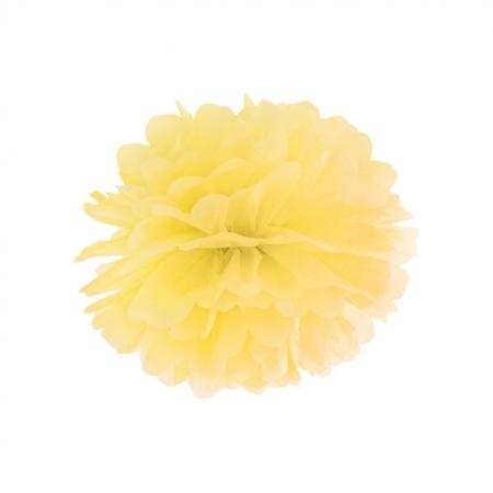 Pompoms gelb 35cm