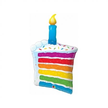Ballon Rainbow Cake 107cm