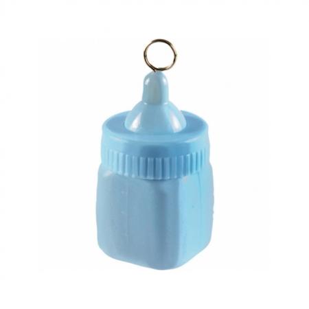 Ballongewicht Babyflasche hellblau