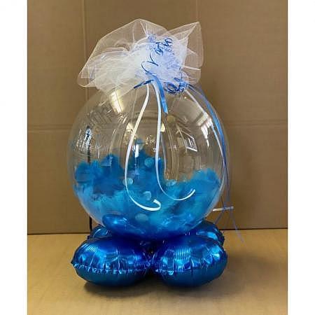 Crea Ballonkugel Midi Blau
