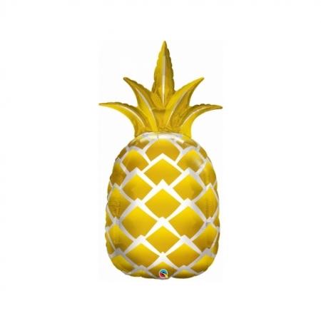 Geschenkballon Ananas Maxi 112 cm