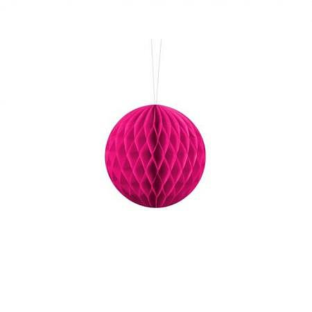 Honeycomb Ball dunkel pink 10cm