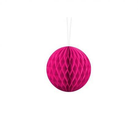 Honeycomb Ball dunkel pink 20cm