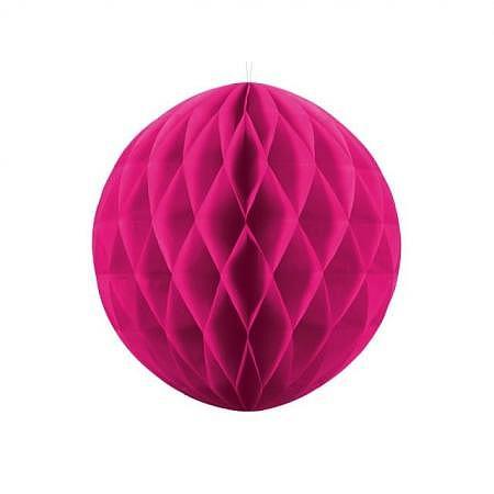 Honeycomb Ball dunkel pink 40cm