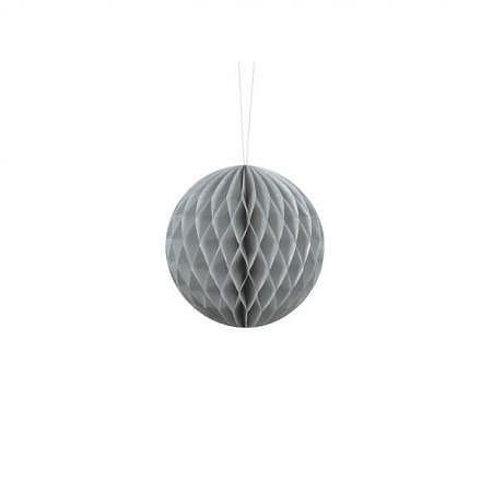 Honeycomb Ball grau 20cm