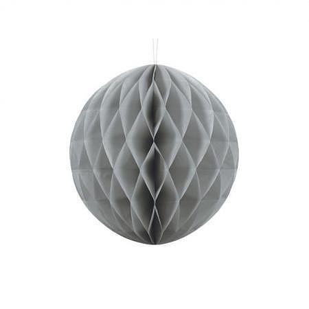 Honeycomb Ball grau 30cm