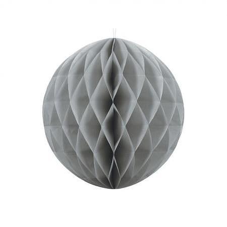 Honeycomb Ball grau 40cm