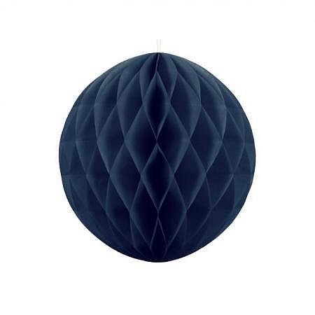 Honeycomb Ball navy blau 40cm