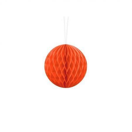 Honeycomb Ball orange 10cm