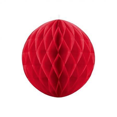 Honeycomb Ball rot 40cm