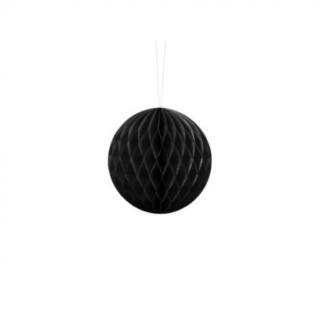 Honeycomb Ball schwarz 10cm