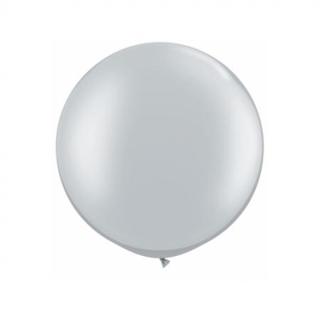 Riesenballon Silber 60cm