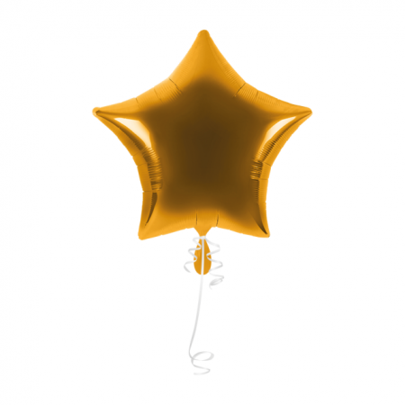 Ballon Stern Gold 71cm