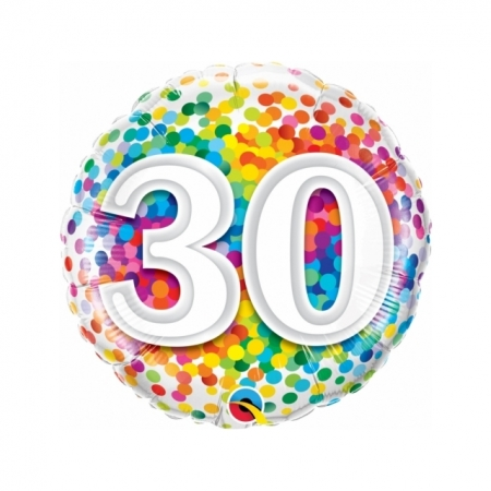 Geschenkballon 30. Geburtstag