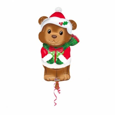 Weihnachtsballon Weihnachtsbärchen