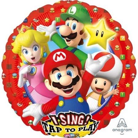 Musikballon singend Super Mario