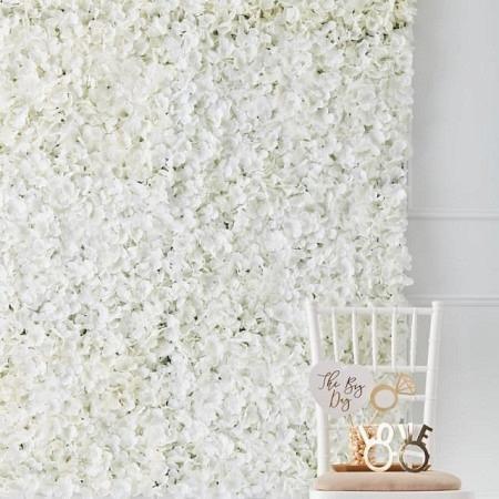 Blumenwand Dekoration