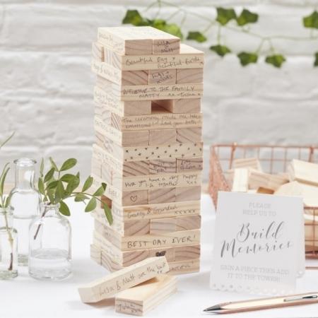 Gästebuch Bausteine für die Hochzeitswünsche