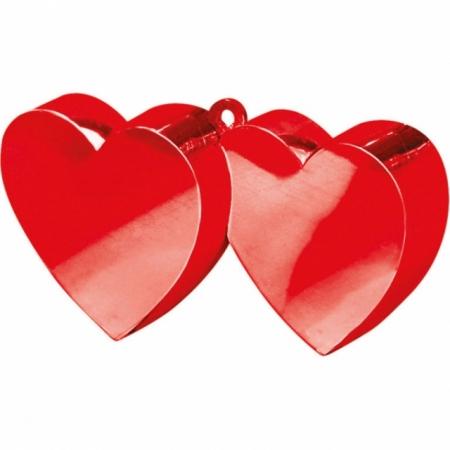 Ballongewicht Doppelherz Rot