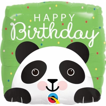 "Panda Geschenkballon ""Happy Birthday"""