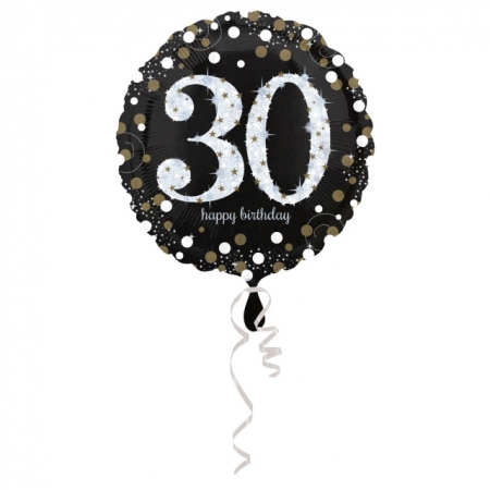 30. Geburtstag Geschenkballon Elegance