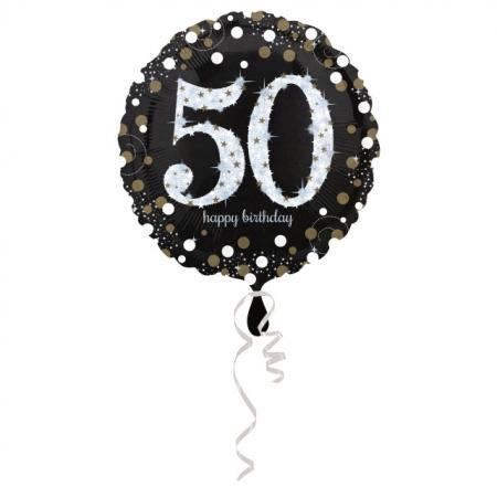 50. Geburtstag Geschenkballon Elegance