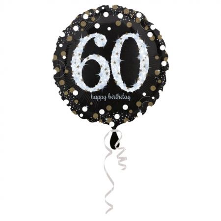 60. Geburtstag Geschenkballon Elegance