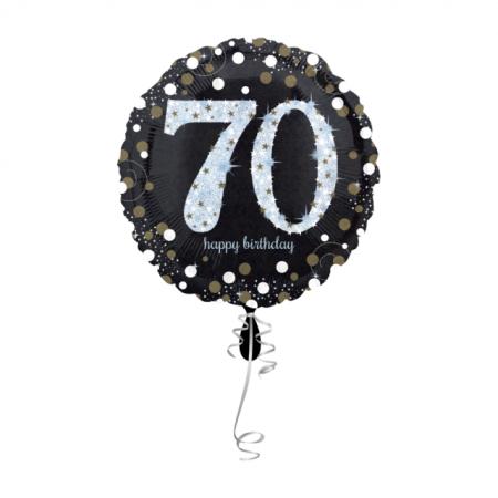 70. Geburtstag Geschenkballon Elegance