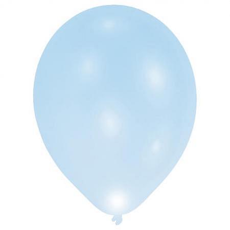 LED Ballons Hellblau