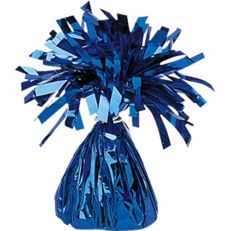 Ballongewicht Zottel Blau