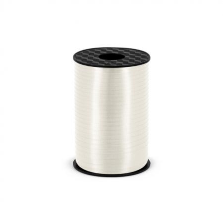 Polyband - Geschenkband Weiss 5 mm - 225 Meter