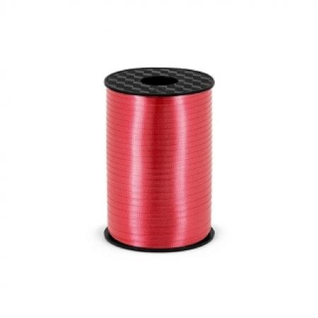 Polyband - Geschenkband Rot 5 mm - 225 Meter