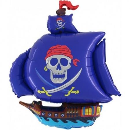 Piratenschiff Geschenkballon