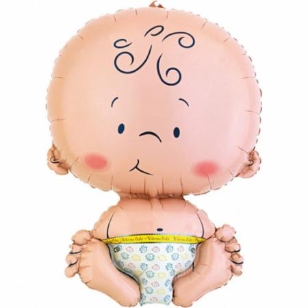 Geschenkballon Welcome Baby Maxi