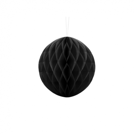 Wabenball Honeycomb Schwarz 20 cm