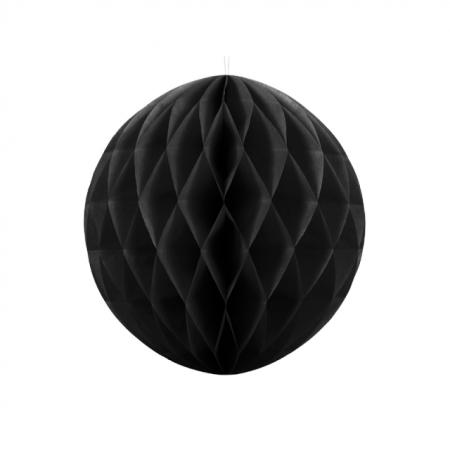 Wabenball Honeycomb Schwarz 40 cm