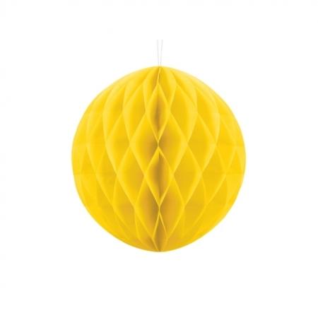 Wabenball Honeycomb Gelb 30 cm