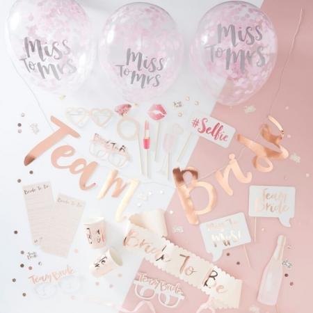 Team Bride Partybox für die Hen Party 10 Personen