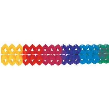 Girlande Tassel Regenbogen Farben