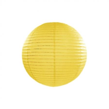 Lampion Gelb 25 cm