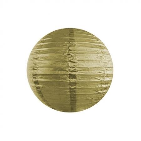 Lampion Gold 25 cm