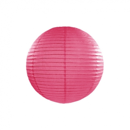 Lampion Hot-Pink 25 cm