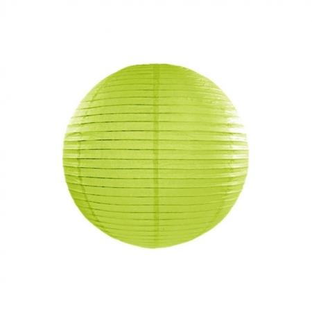Lampion Apfelgrün 35 cm