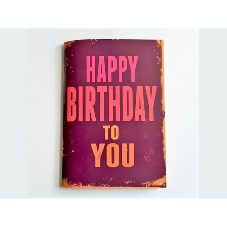 Musikkarte Happy Birthday mit Überraschung