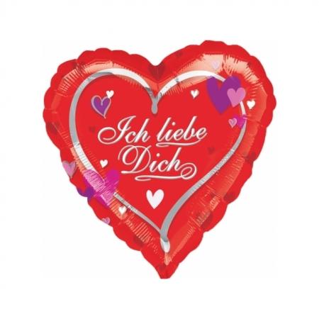 Herzballon Ich liebe Dich
