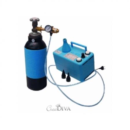 Helium Abfüllstation mit Automatik-Timer