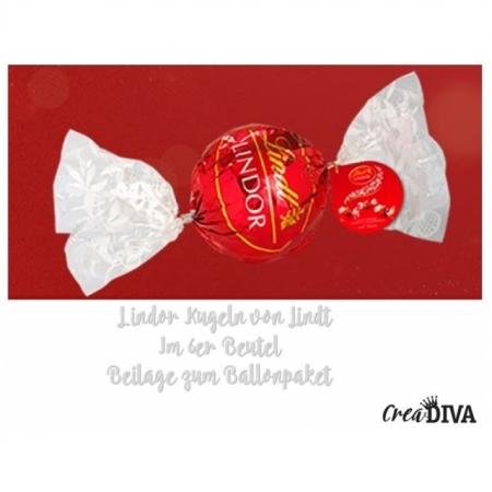 Lindorkugeln Rot >62 Gramm (6-7 Kugeln)